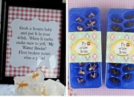 ... My Water Broke Game | Click Pic for 35 DIY Baby Shower Ideas for Girls |