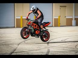 stunt bike lot day youtube