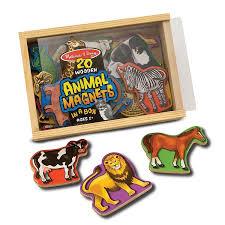 0475-magnetsinabox-animals-3pcsoutcomp.jpg Wooden Animal Magnets 20 pc Play Set - Educational Toys Planet