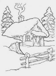 Personaggi Disney Facili Da Disegnare Sauvage27 Paesaggi Di Natale