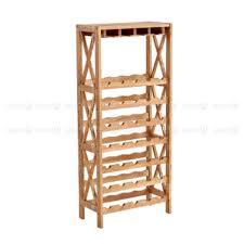 bordeaux solid wood wine rack