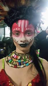 face painting creative and makeup artist melbourne area voodoo makeup