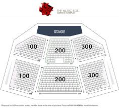 You Will Love Music Box Seating Chart Folger Theater Seating