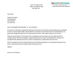 Template Letter Paternity Leave Copy Sample Maternity Leave Letter