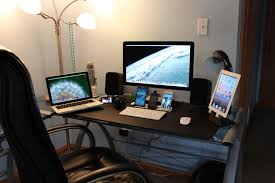 Spectacular Black Computer Desk With Modern Game Swivel Chairs Also Floor  Lamps In Guys Video Game Room Ideas