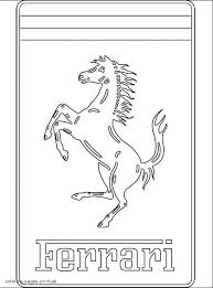 Small Picture Ferrari coloring pages 33GIF Coloring Home