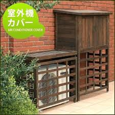 air conditioner cover outdoor wall