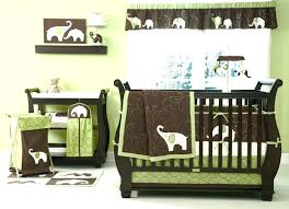 blue and brown nursery green