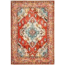teal and orange rug orange light blue 5 ft x 8 ft area rug teal and teal and orange rug
