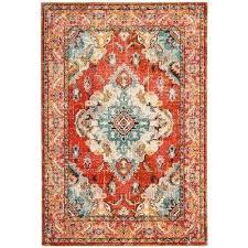 teal and orange rug orange light blue 5 ft x 8 ft area rug teal and teal and orange rug