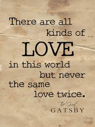 The Great Gatsby Love Quotes Enchanting The Great Gatsby Quote Graphic Print InspirationQuotes