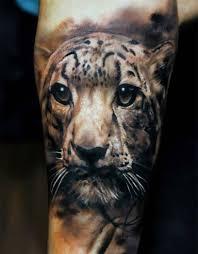 тату в стиле реализм тигр тритатушки тату тату татуировки и