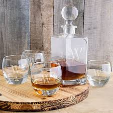 personalized decanter glasses set engraved jpg