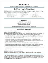 High School Resume Builder Fascinating Resume M D Sample Resume For A Medical Assistant Resume Builder