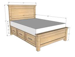 Queen Bed Dimensions In Inches For Queen Size Beds Marvelous