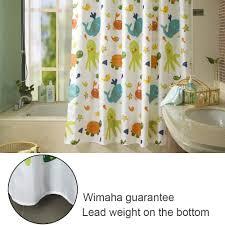 shower curtain shower environmentally friendly. Amazon.com: [Latest Style] Children Cartoon Shower Curtain, Wimaha Eco- Friendly Baby Cozy Fabric Curtains For Children\u0027s Bathroom Bathtub [Animal Curtain Environmentally E