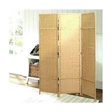 rattan room divider ikea folding woven paper rattan room divider 3 panel privacy screen beige outdoor