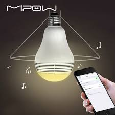 control lighting with iphone. MIPOW Bluetooth Light Shape Speaker, PLAYBULB Lite Smart LED Lights, Wireless APP Control Lamp Lighting With Iphone