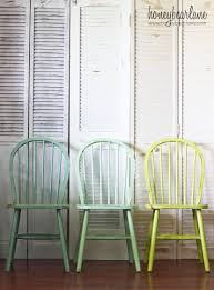 green painted furniture. Furniture Yellow Painted Dining Chairs Stunning Green Inspiration The Weathered Fox For L