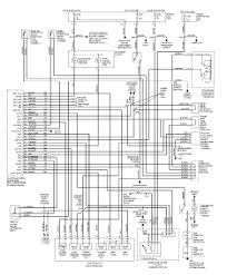 ford probe wiring diagram harness and electric circuit