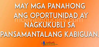 Tagalog Quotes Delectable Tagalog Motivational Quotes