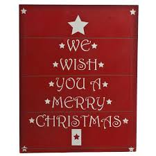 Christmas Signs We Wish You A Merry Christmas Wooden Sign Wooden Christmas Wall