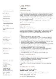 dietitian resume dietitian resume the best resume