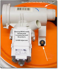 fixing the ge wbvh6240 front loading washing machine hanning pump hanning bg40 pump for ge wbvh6240