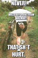 Worn out biker butt Meme Generator - Captionator Caption Generator ... via Relatably.com