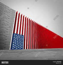 Border Wall Design Concepts United States Border Image Photo Free Trial Bigstock
