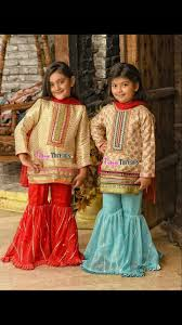 Pakistani Kids Salwar Kameez Designs Pin By Samia Mughal On Little Girl Dresses Kids Girl Kids