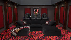 Small Picture Complete Home Theater Decor Packages 4seating