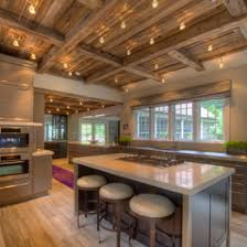 exposed ceiling lighting. Exposed Ceiling And Track Lighting Design Ideas, Pictures, Remodel, Decor - Page 2 | Basement Pinterest Design, Ceilings R