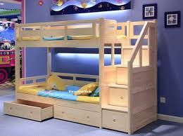 bunk bed exclusive solid pine staircase beds star