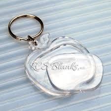 apple keychain. apple snap together acrylic key chain keychain f