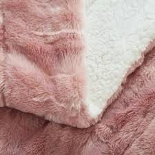 pink throw blanket faux fur dusty rose pink throw blanket 7 home fashion pink throw blanket