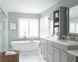bathroom cabinet design. Example Of A Large Transitional Master White Tile And Subway Marble Floor Gray Bathroom Cabinet Design