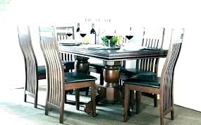 espresso romeo round dining table glass and chairs furniture of top pedestal oval set kitchen cabinets espresso romeo round dining table