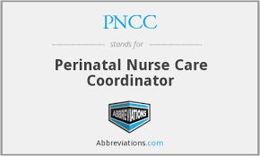 Perinatal Nurse Pncc Perinatal Nurse Care Coordinator
