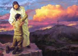 Image result for Jesus protecting pics