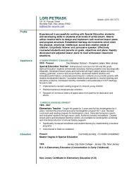 Teacher Resume Format Musiccityspiritsandcocktail Com