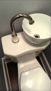 Toilet & Sink Combo - It's easy to get enthusiastic about steam showers,  clawfoot tubs, and designer sinks when yo