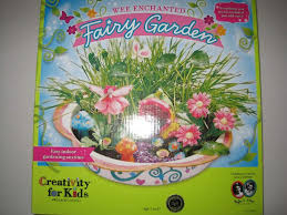 details about creativity for kids enchanted fairy garden craft kit fairy crafts for kids