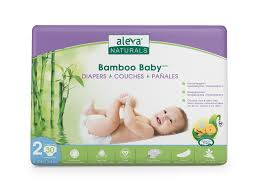 Bamboo Baby Diapers Size 2 Aleva Naturals