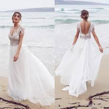 White Beach Wedding Dresses Women 39 S Style White Beach Wedding