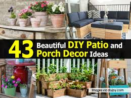 Simple Diy Patio Decorating Ideas 43 Beautiful And Intended
