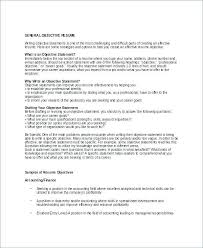 Great Objective Lines For Resumes Good Objective For A Resume