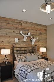 rustic chic bedroom accent wall page 1