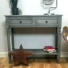 Black sofa table with drawers Side Black Hall Table Gray Console Grey The Farthing With Sofa Drawers Co Foundrico Black Sofa Table With Drawers Foundrico