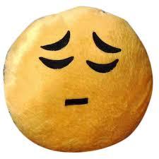 Sad Emoji Bed Pillow
